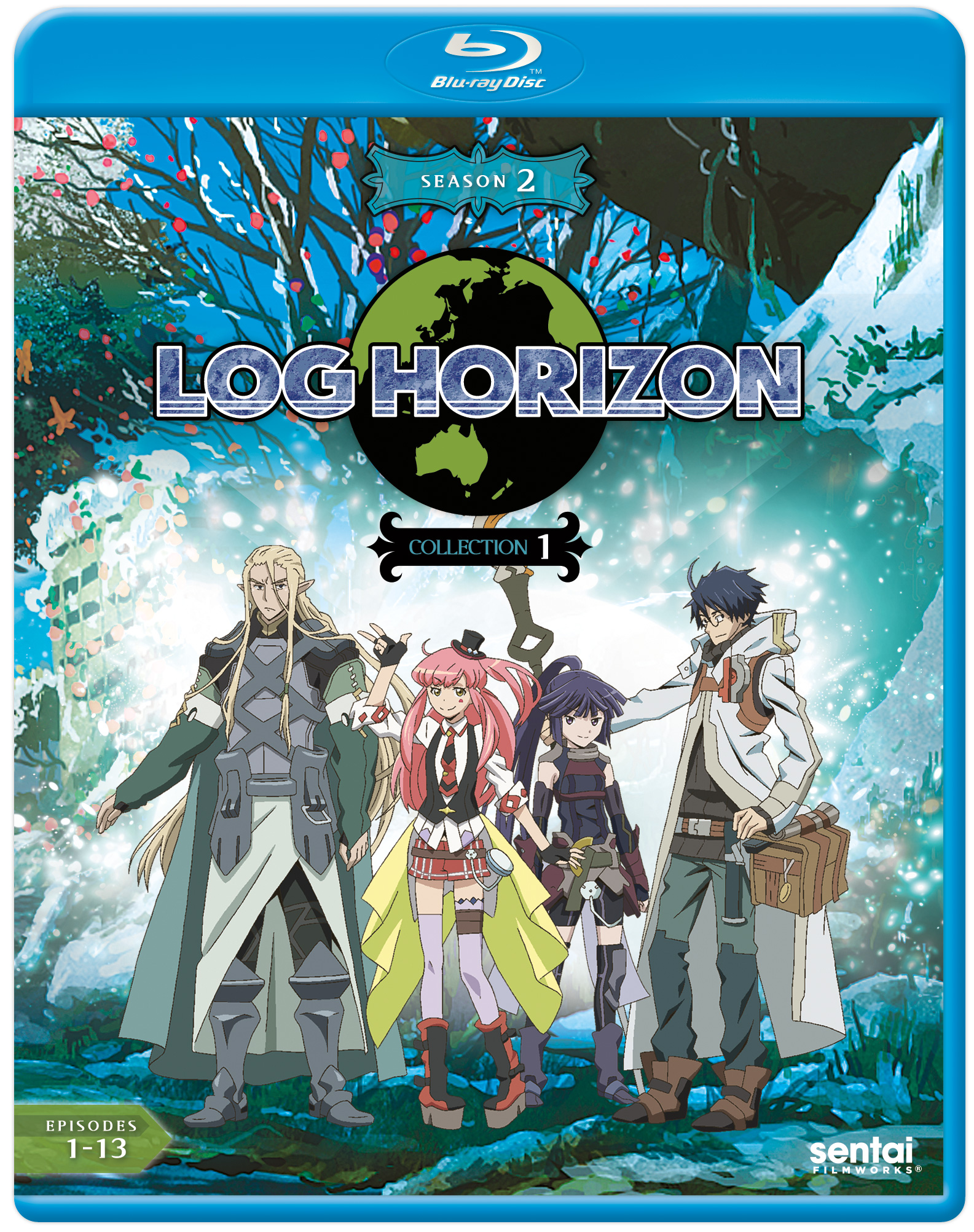 Log Horizon 2 Collection 1 Blu-ray 814131017888