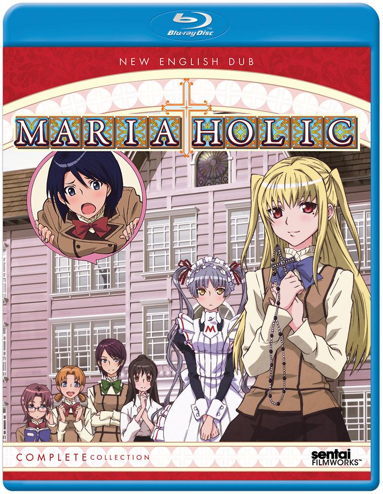 Maria-Holic Blu-ray 814131017932