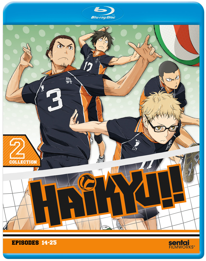Haikyu!! Season 1 Collection 2 Blu-ray 814131017970