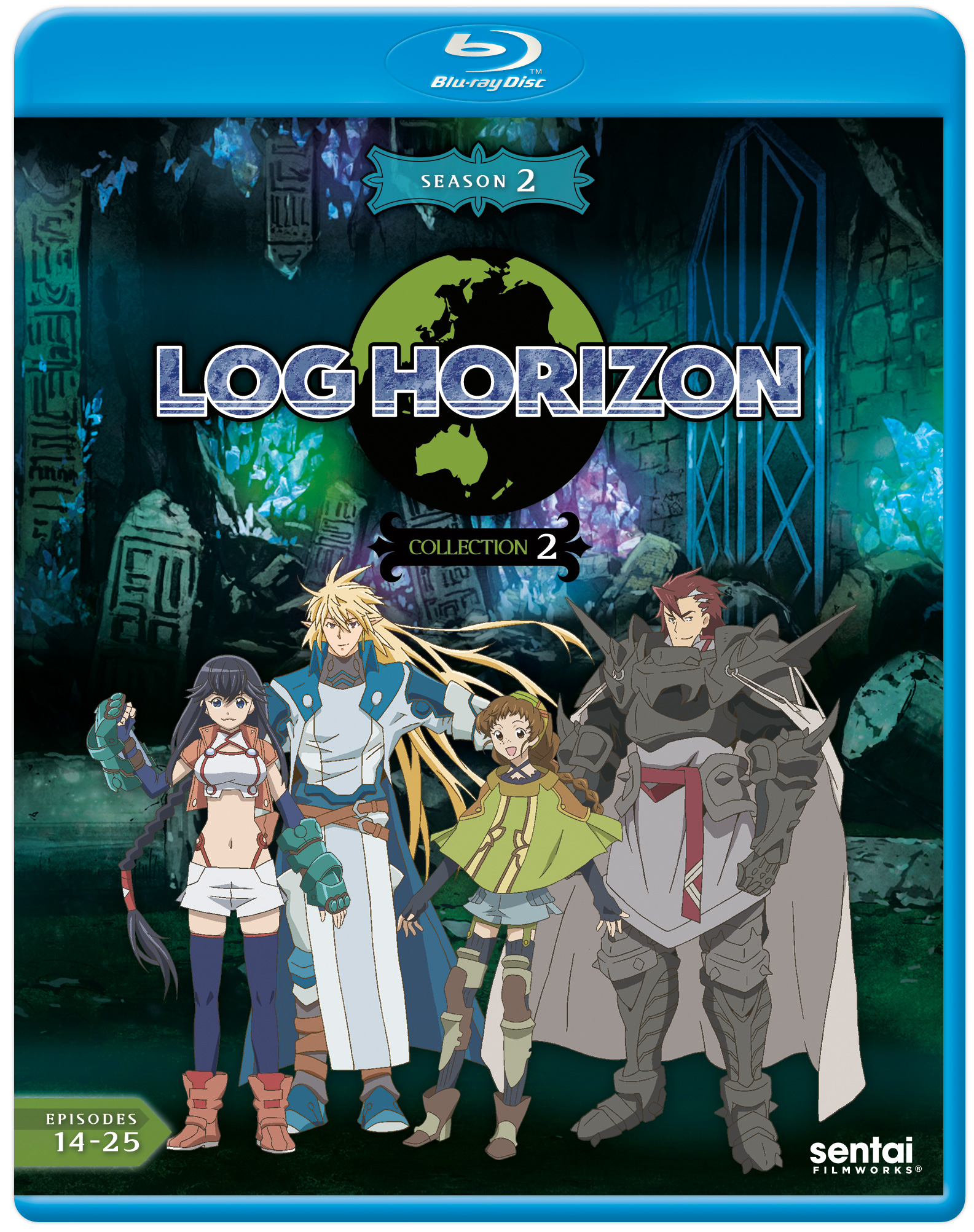 Log Horizon 2 Collection 2 Blu-ray 814131017987