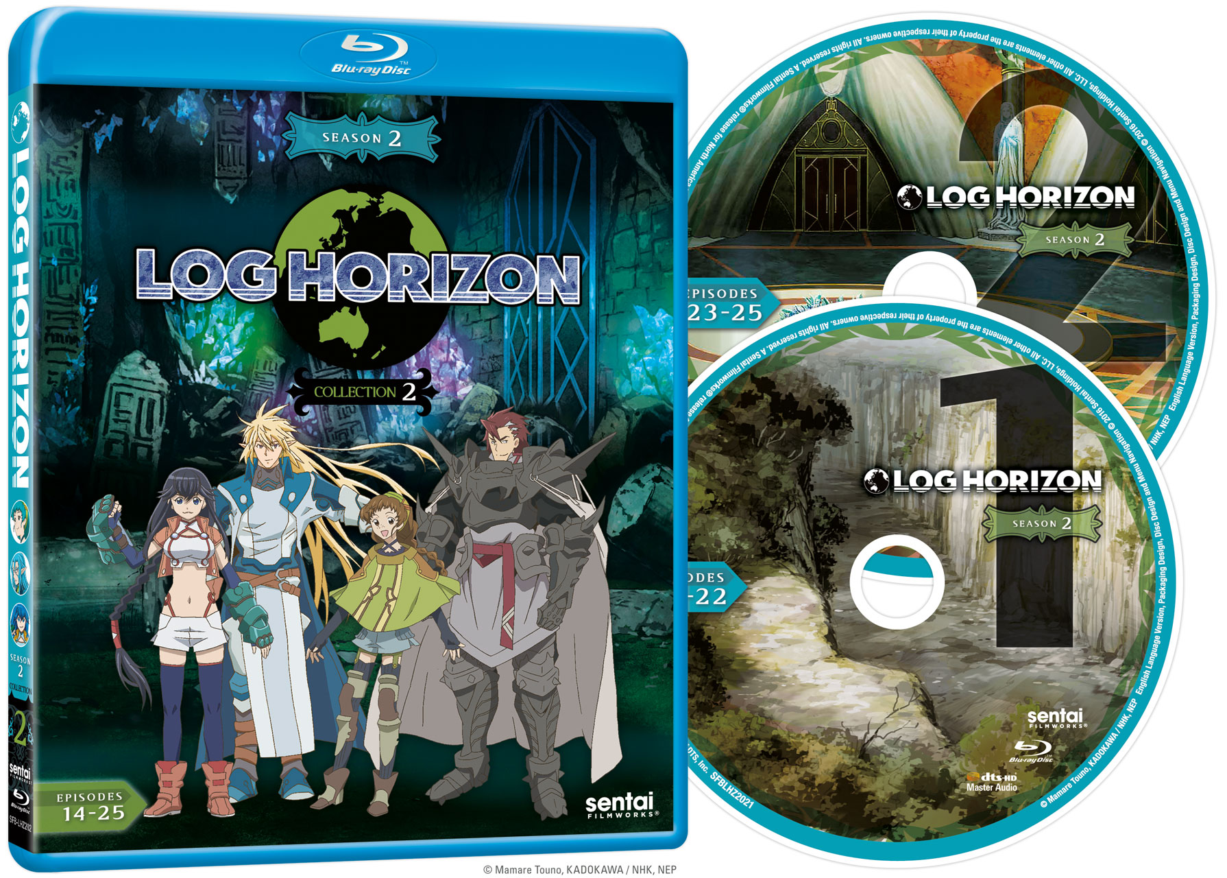 Log Horizon 2 Collection 2 Blu-ray