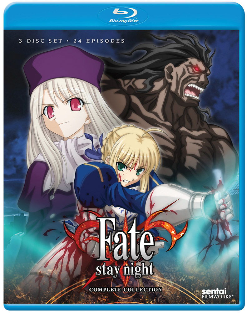 Fate/stay night Complete Collection Blu-ray 814131018045