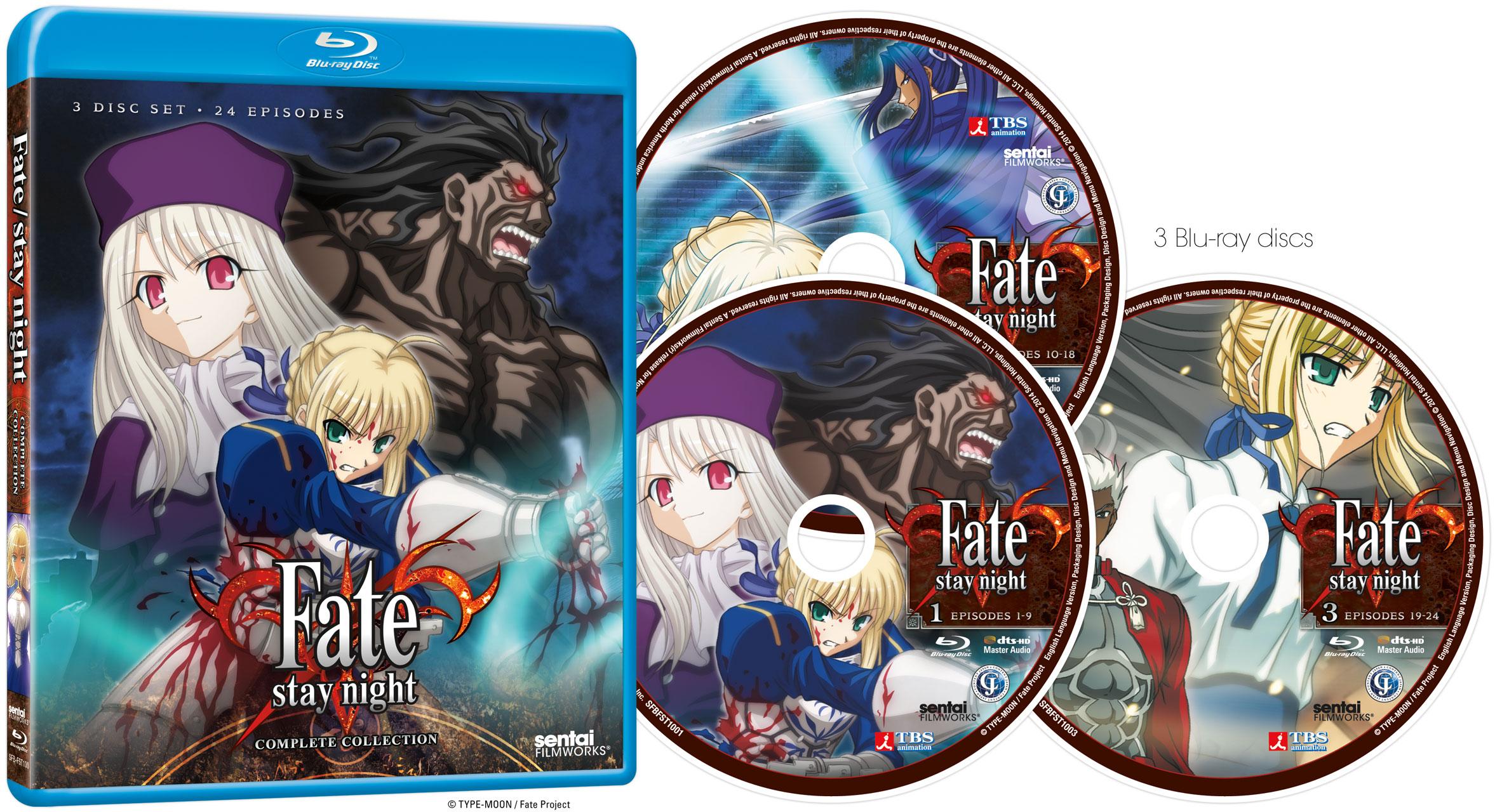 fate stay night heavens feel movie blu ray release
