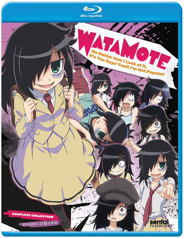 Watamote No Matter How I Look At It, It's Your Guys' Fault I'm Not Popular Blu-ray 814131018052