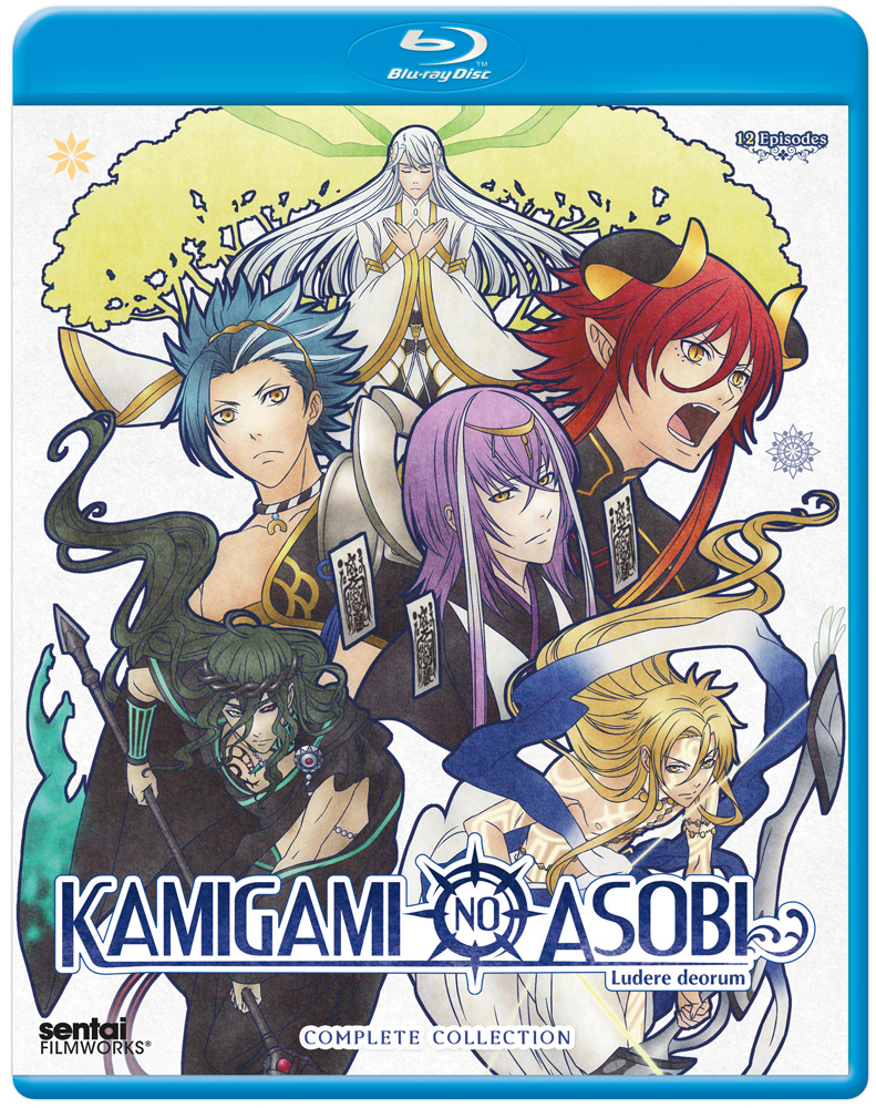 Kamigami no Asobi Blu-ray