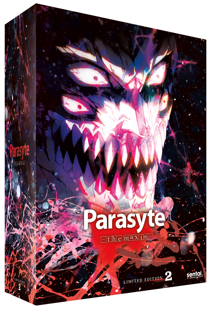 Parasyte ~ the maxim Collection 2 Limited Edition Blu-ray/DVD Box Set 814131018083