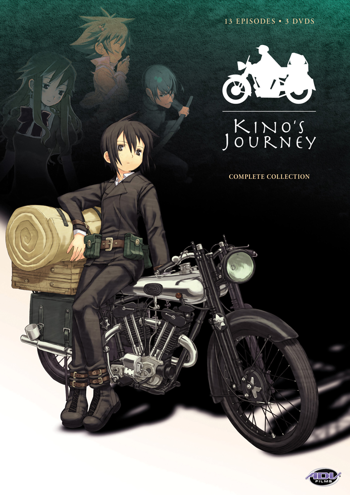 Kino's Journey Complete Collection DVD