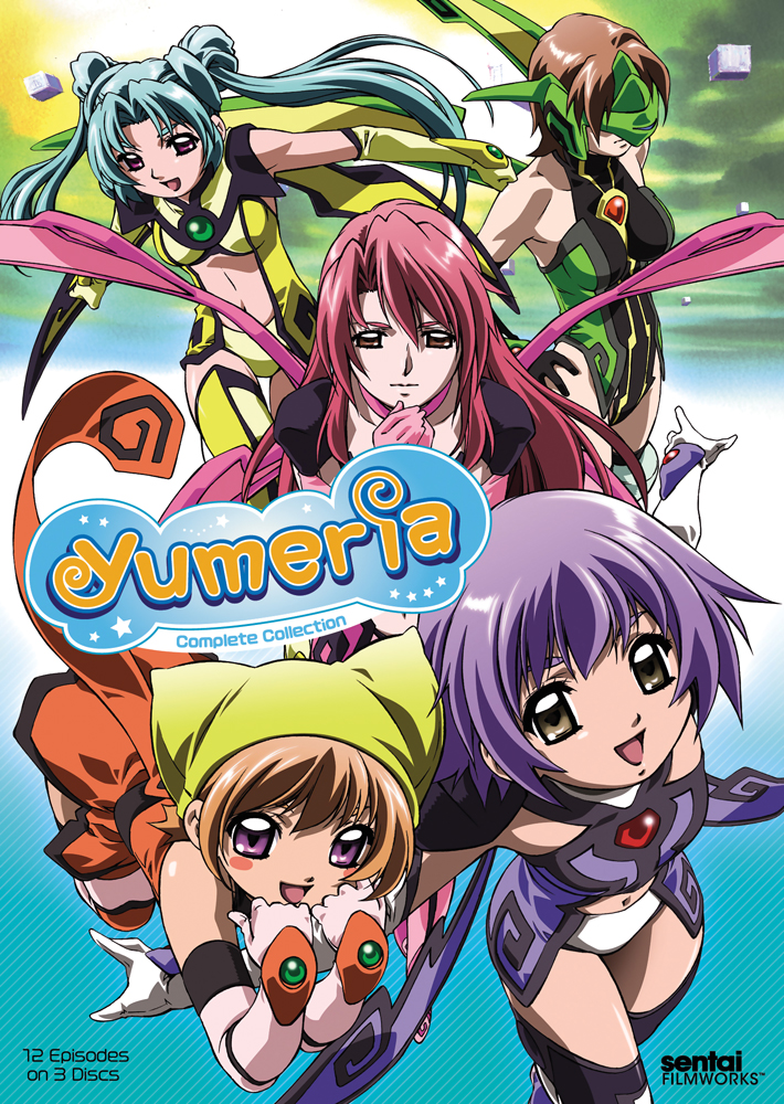 Yumeria Complete Collection DVD 814131018236