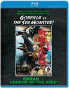 Ebirah Horror of the Deep Godzilla vs the Sea Monster Blu-ray