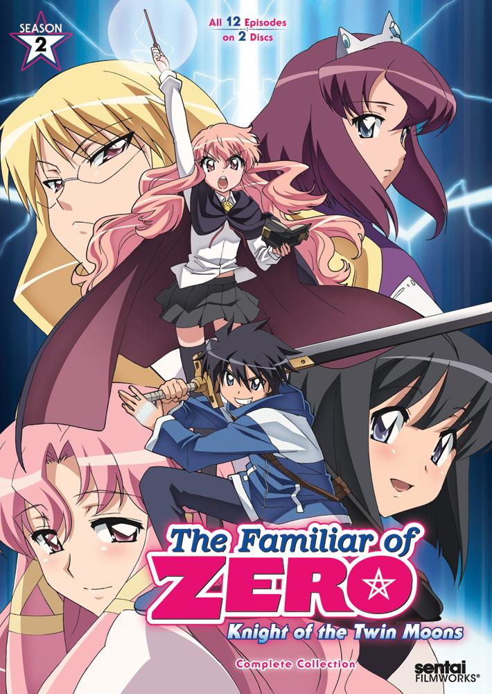The Familiar of Zero Season 2 DVD 814131018267