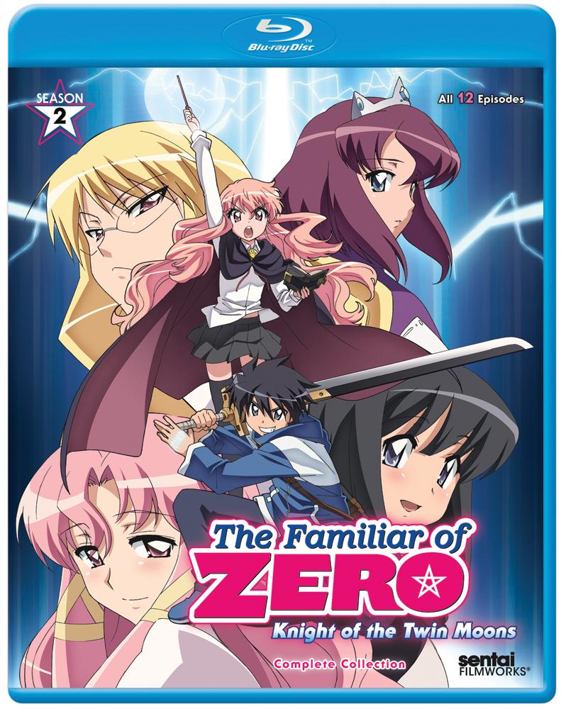 The Familiar of Zero Season 2 Blu-ray 814131018366