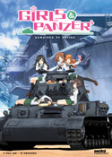 Girls und Panzer Complete TV Series DVD