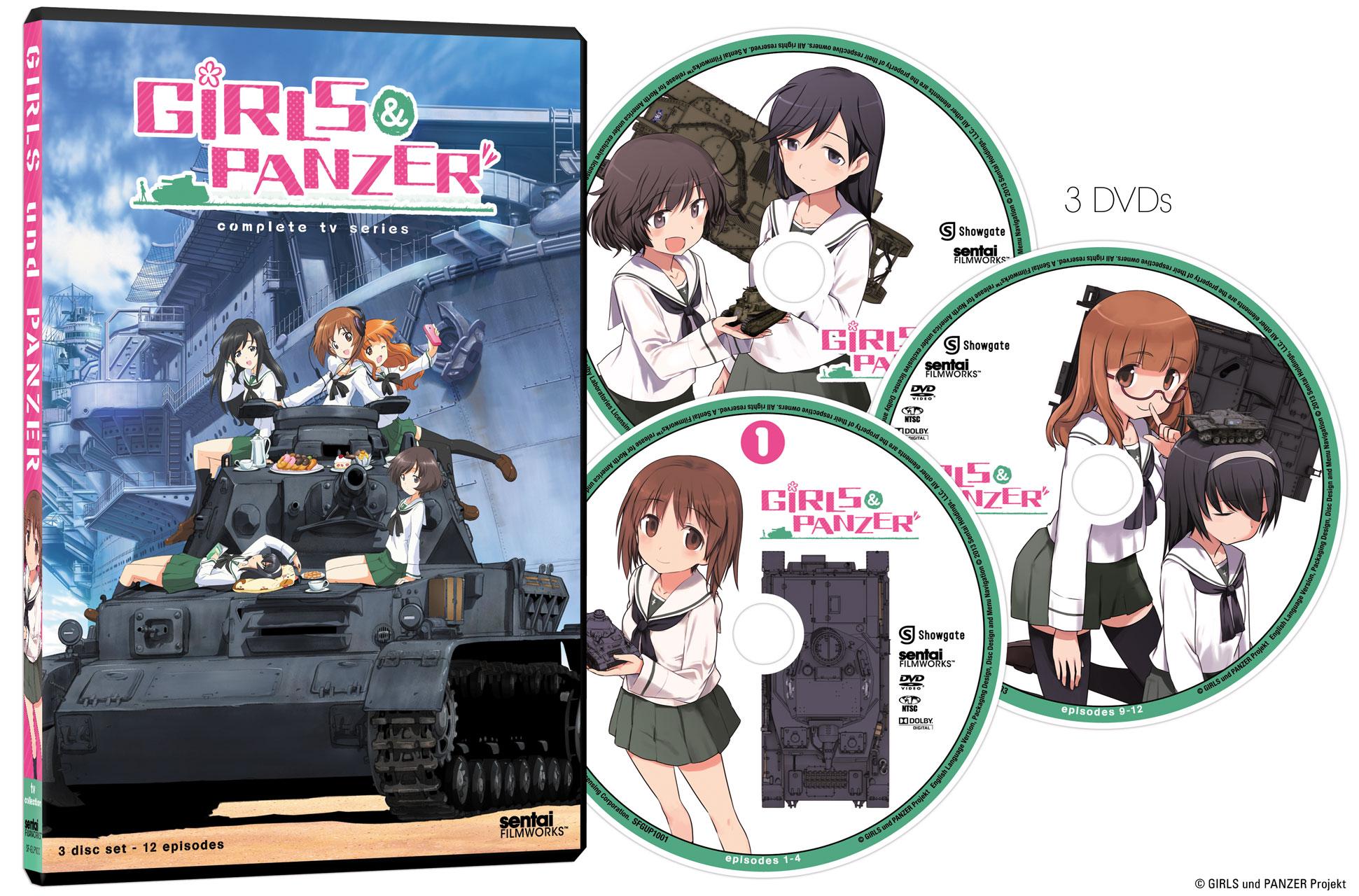 Girls Und Panzer Complete Tv Series Dvd