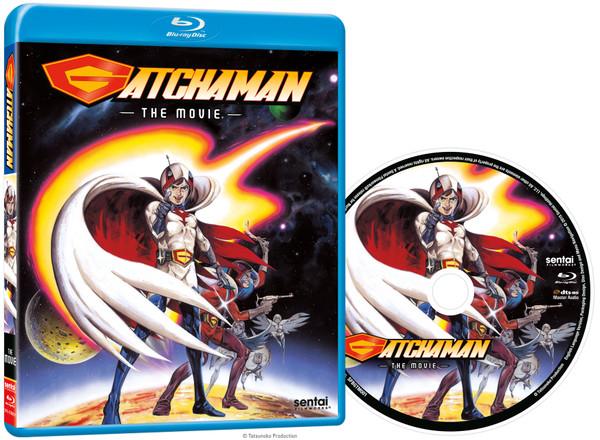 Gatchaman The Movie Blu-ray