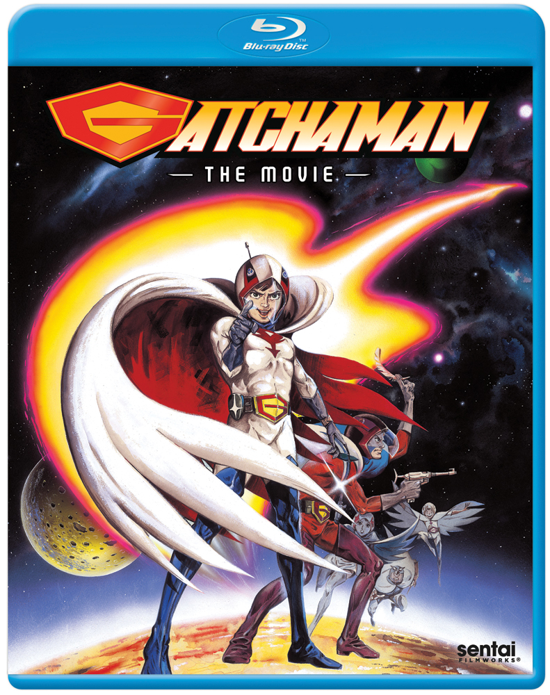 Gatchaman The Movie Blu-ray 814131018472
