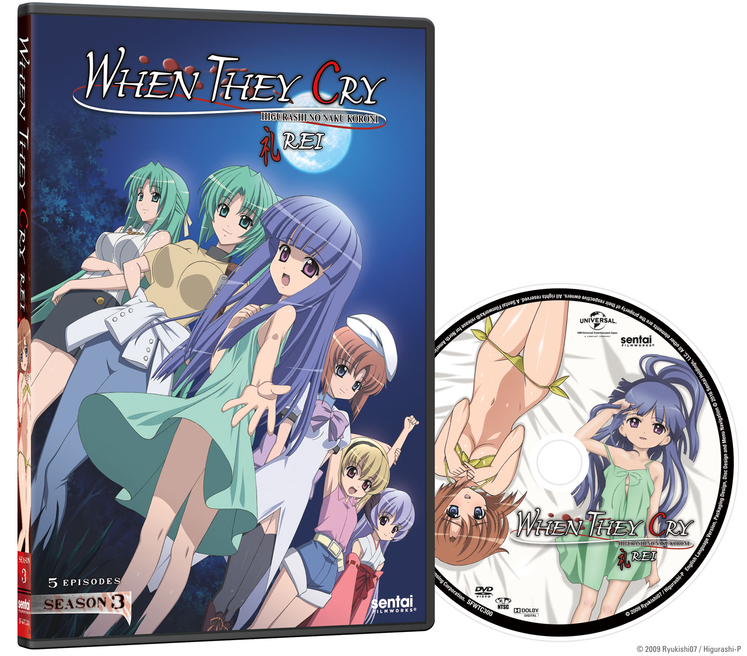 When They Cry Rei Season 3 Dvd