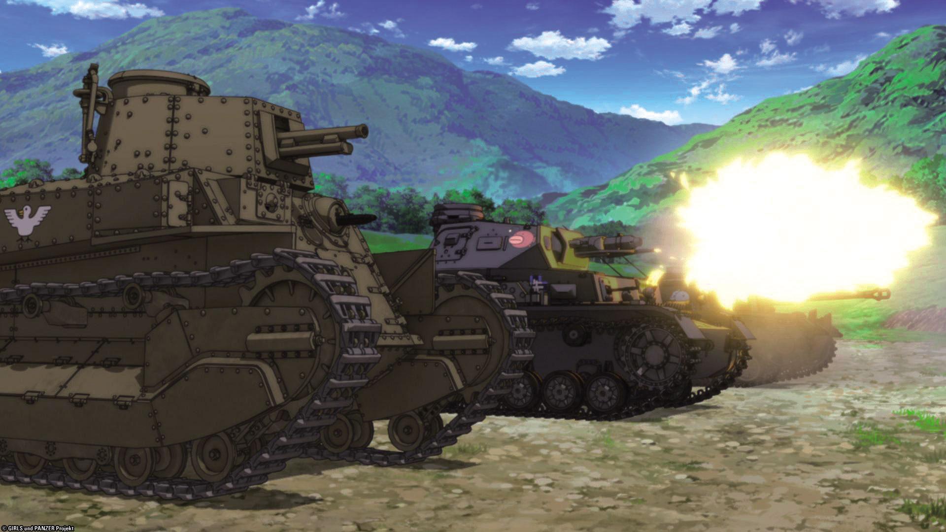 Girls Und Panzer Complete Tv Series Blu Ray