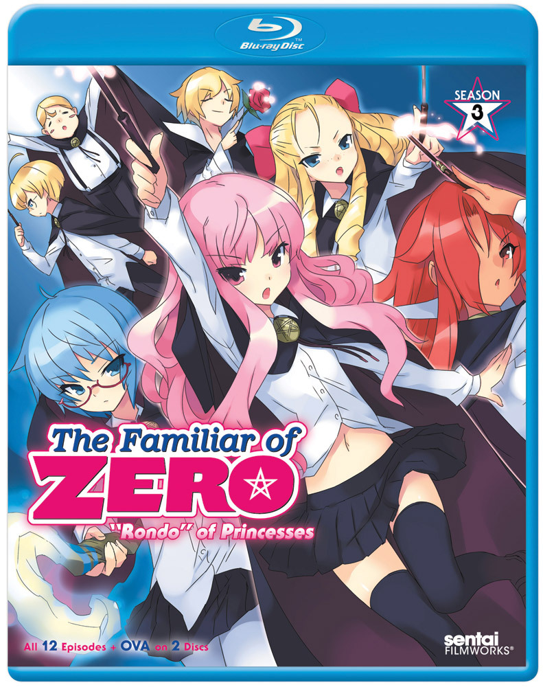 The Familiar of Zero Season 3 Blu-ray 814131018564