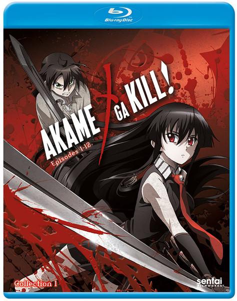 Akame ga Kill Collection 1 Blu-ray
