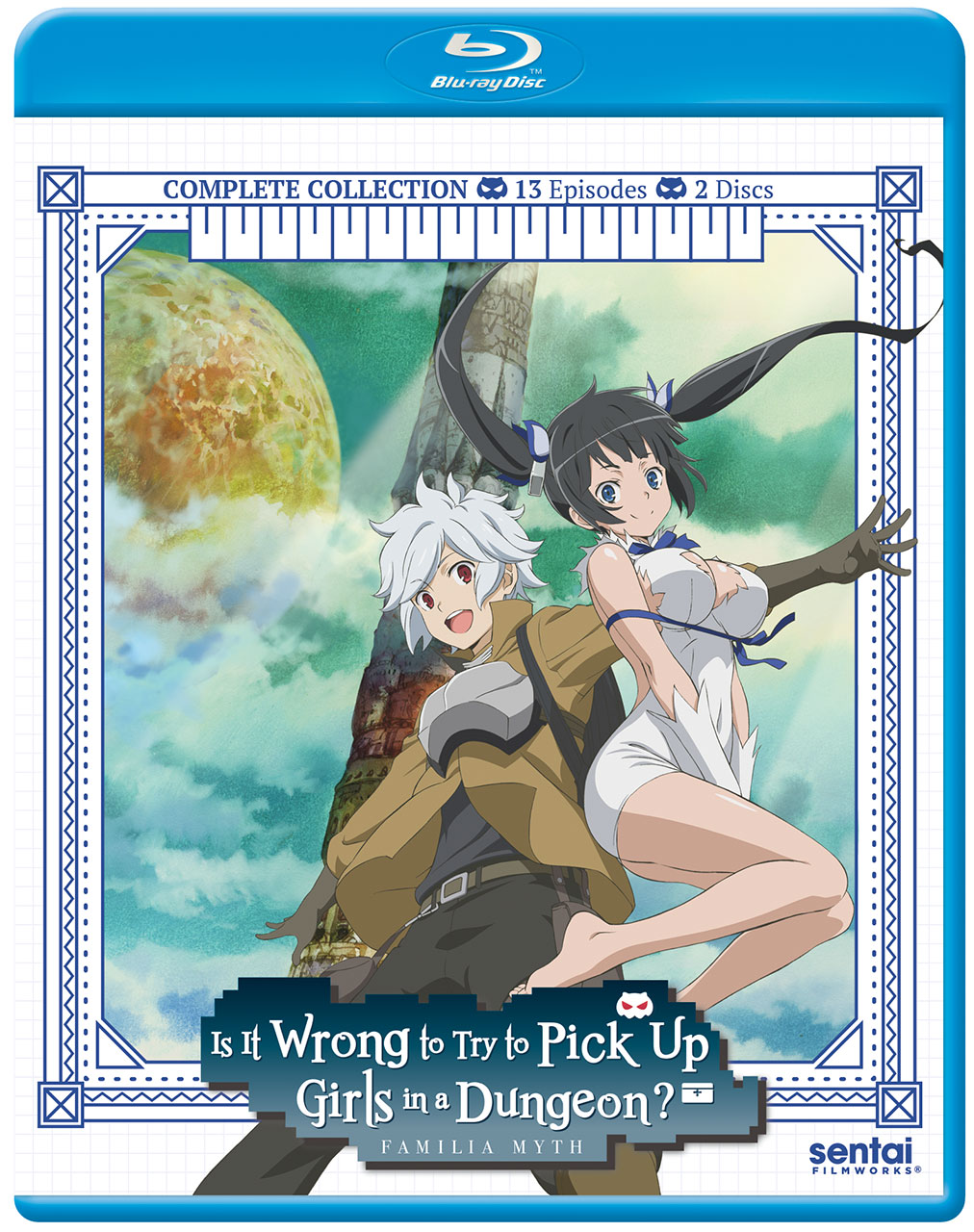 Is It Wrong to Try to Pick Up Girls in a Dungeon?! Blu-ray
