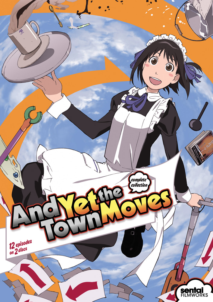 And Yet The Town Moves DVD 814131018618