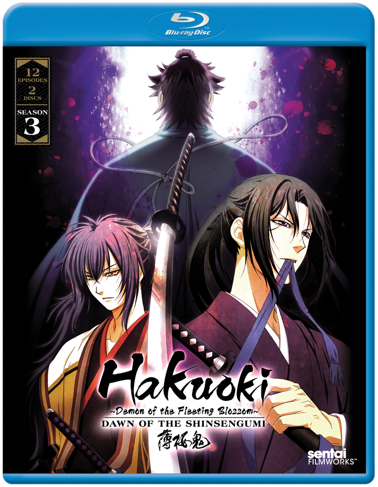 Hakuoki Season 3 Dawn of the Shinsengumi Blu-ray 814131018632