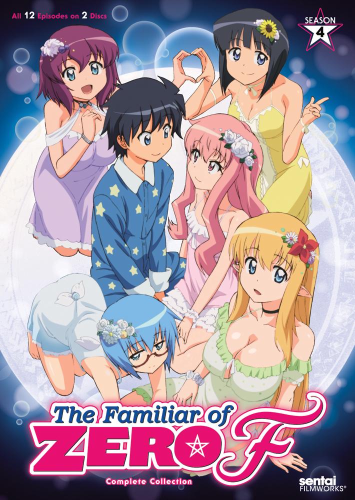 The Familiar of Zero F Season 4 DVD 814131018663