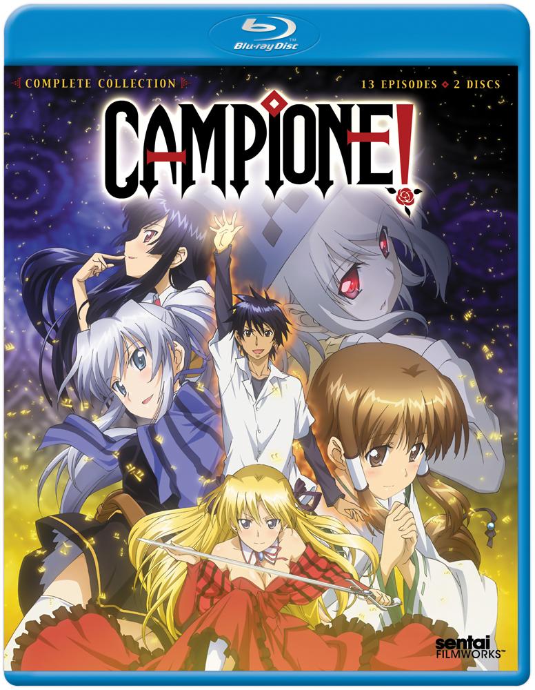 Campione Blu-ray 814131018731