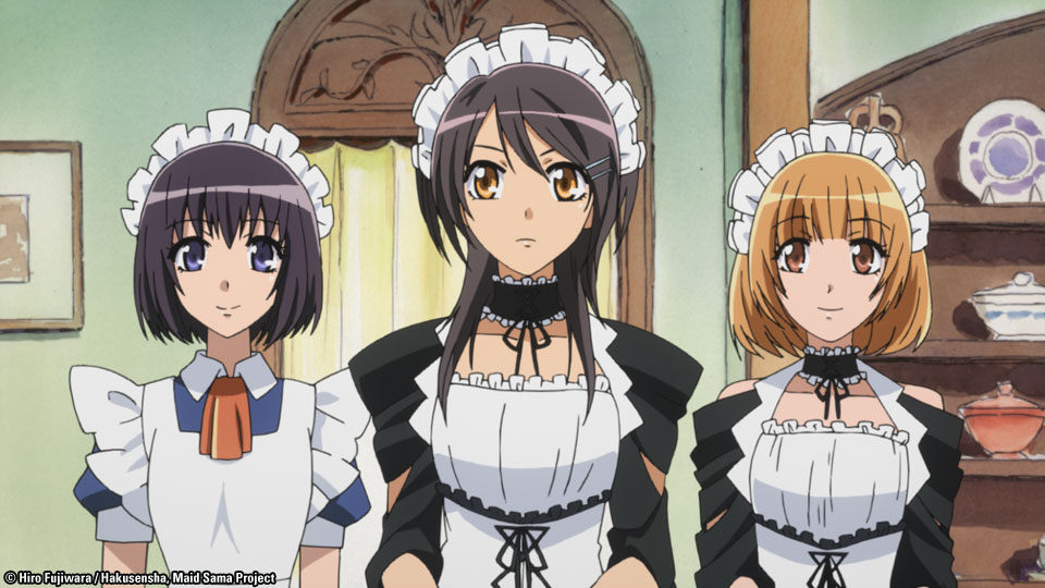Maid sama complete collection dvd