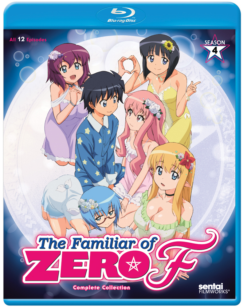 The Familiar of Zero F Season 4 Blu-ray 814131018762