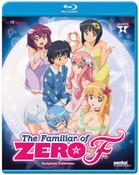 The Familiar of Zero F Season 4 Blu-ray