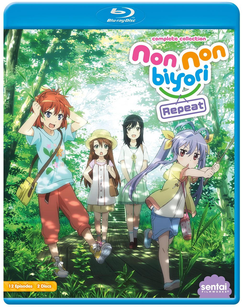 Non Non Biyori Repeat Blu-ray 814131018892
