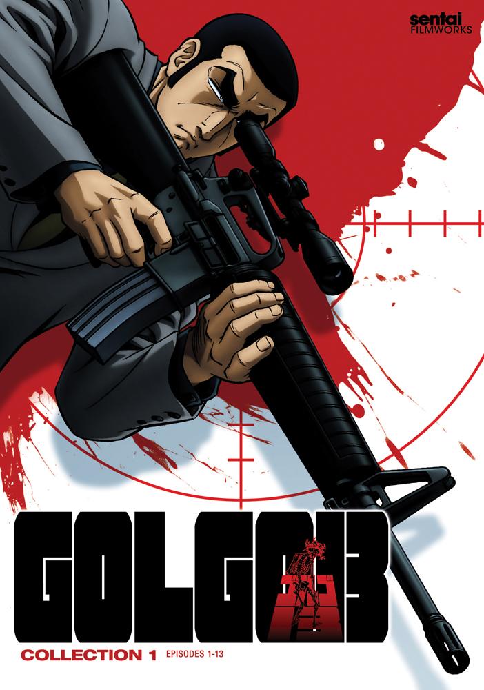 Golgo 13 Collection 1 DVD 814131018908