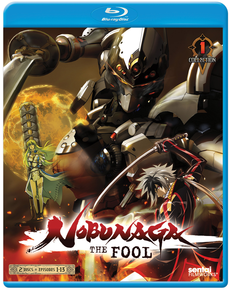 Nobunaga the Fool Collection 1 Blu-ray 814131018960