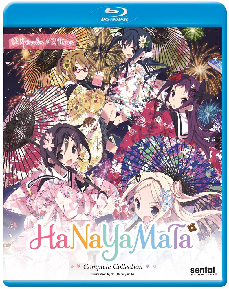 Hanayamata Blu-ray 814131018977