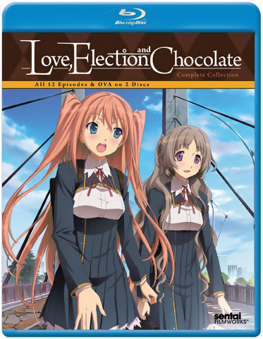 Love, Election and Chocolate Blu-ray 814131019042
