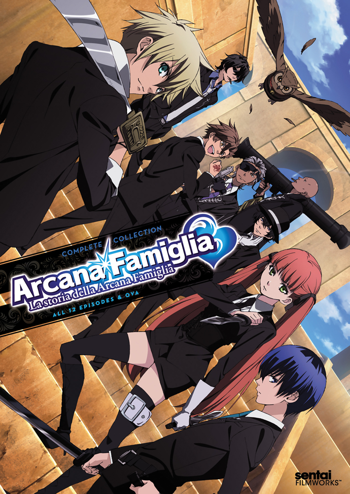 La Storia della Arcana Famiglia DVD 814131019134