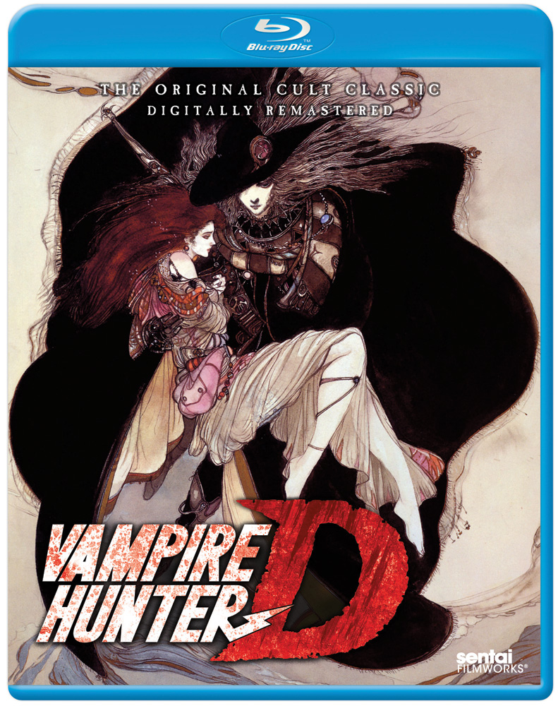 Vampire Hunter D OVA Blu-ray 814131019172