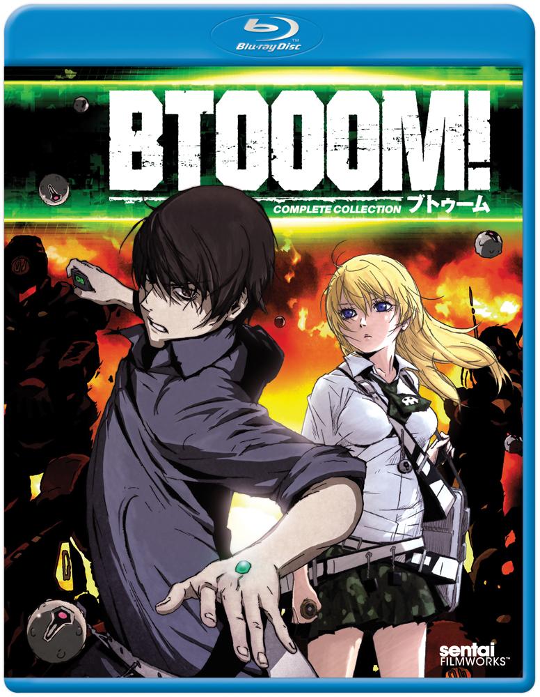 BTOOOM! Blu-ray 814131019240
