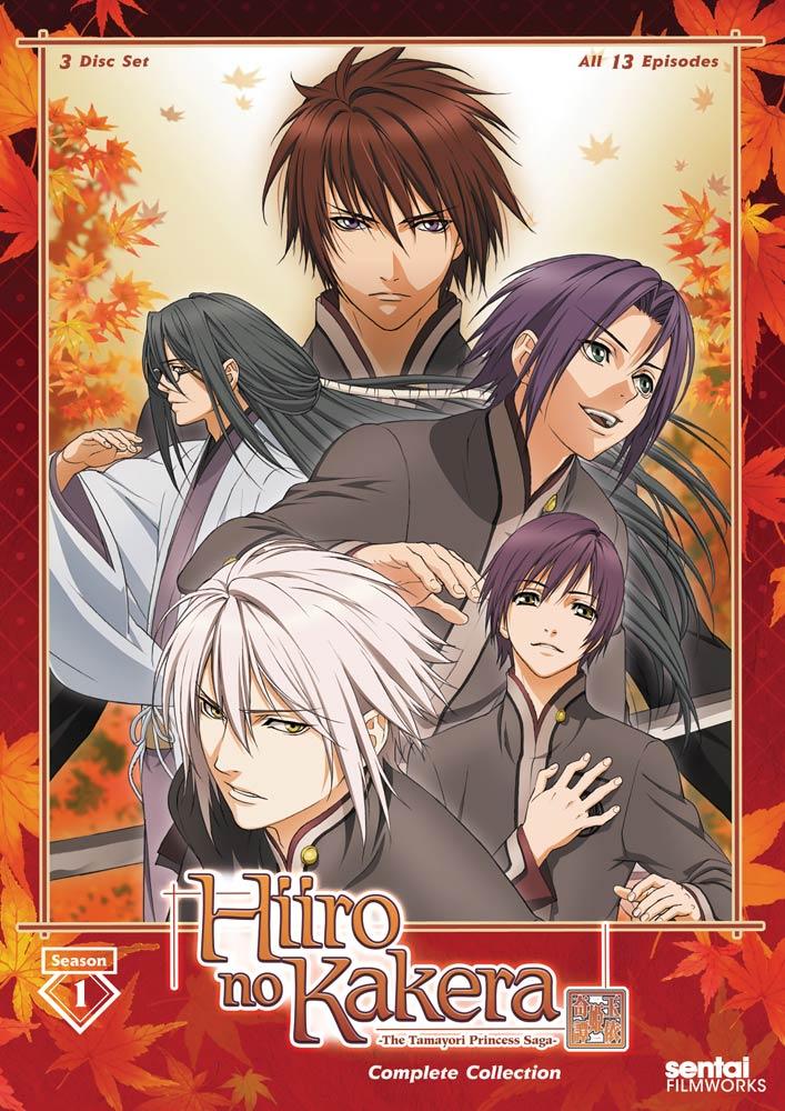 Hiiro no Kakera The Tamayori Princess Saga Season 1 DVD