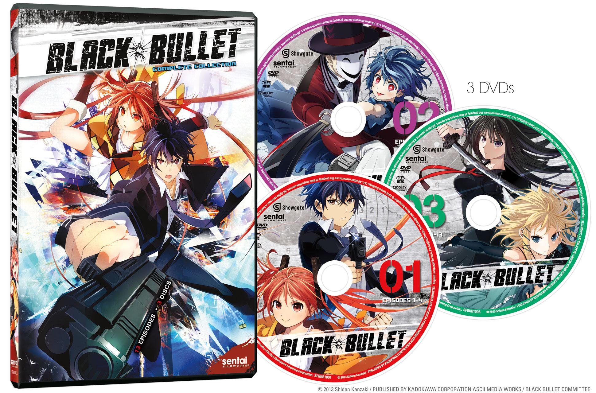 Black Bullet DVD