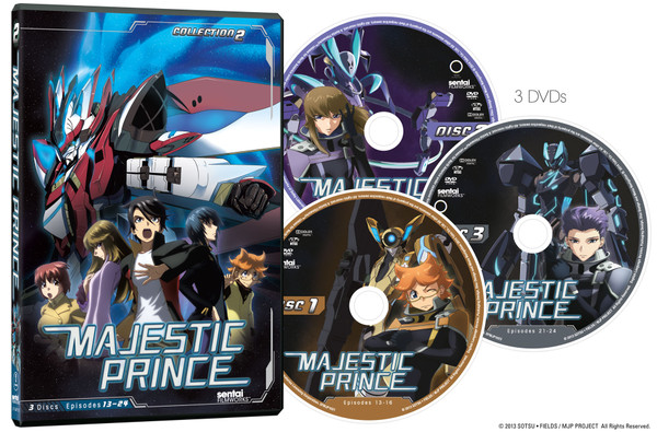 Majestic Prince Collection 2 DVD
