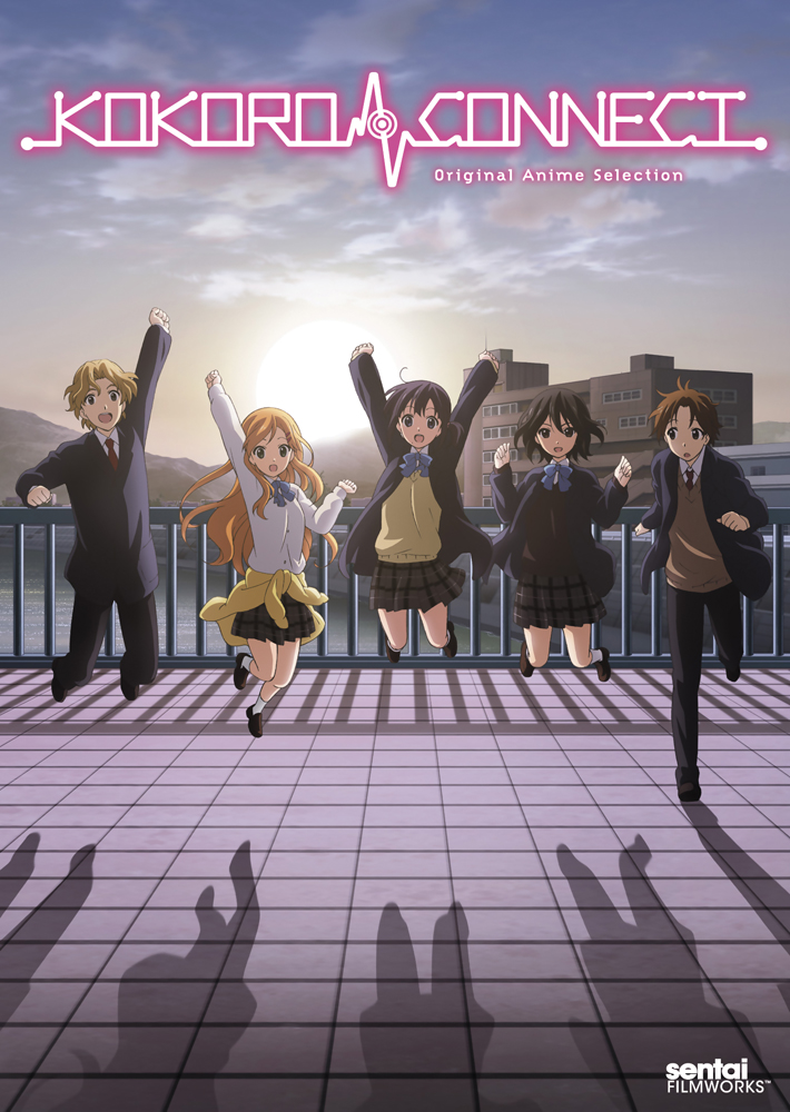 Kokoro Connect OVA DVD Original Anime Selection 814131019646