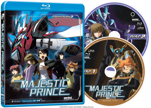 Majestic Prince Collection 2 Blu-ray