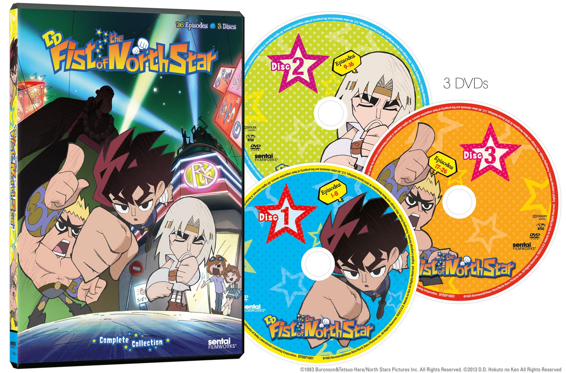 DD Fist of the North Star DVD