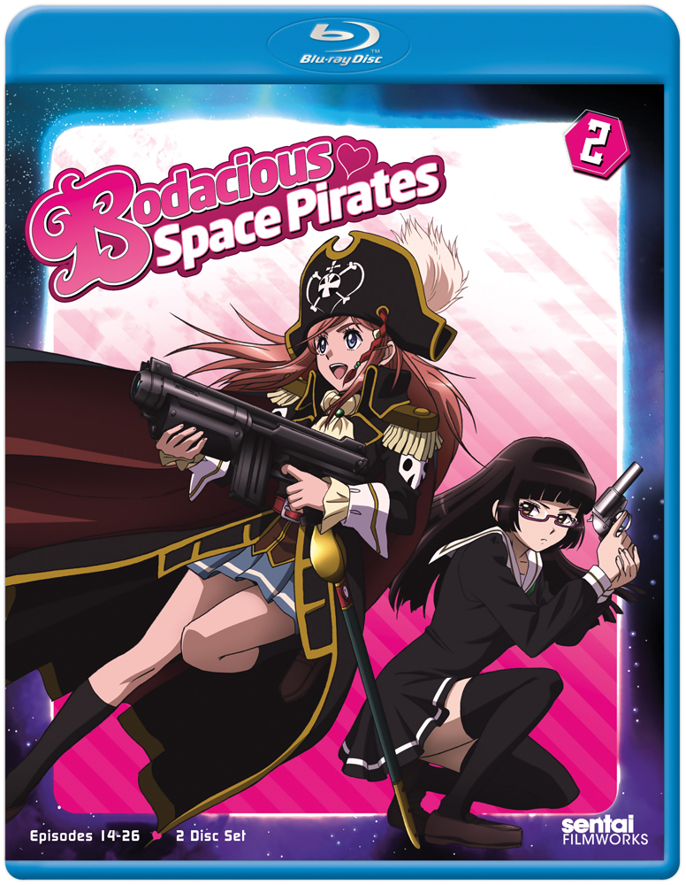 Bodacious Space Pirates Collection 2 Blu-ray 814131019820