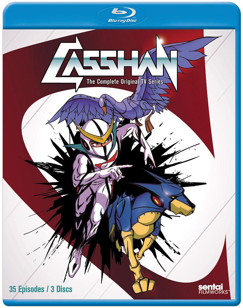 Casshan Blu-ray 814131019844