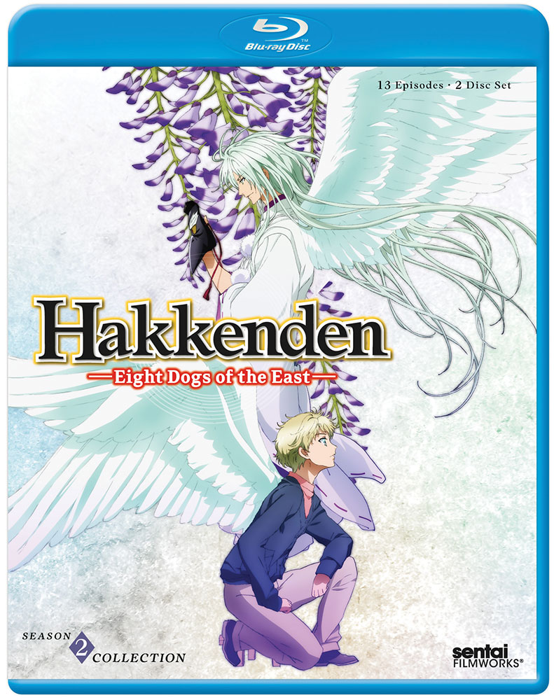 Hakkenden Eight Dogs of the East Season 2 Blu-ray 814131019950
