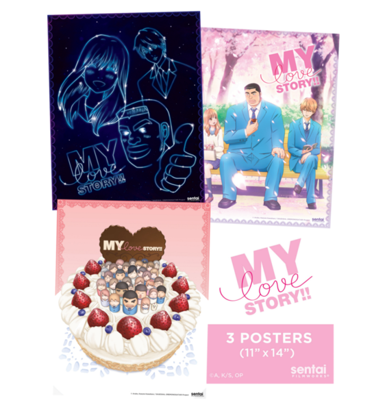 My Love Story Poster 3-Pack