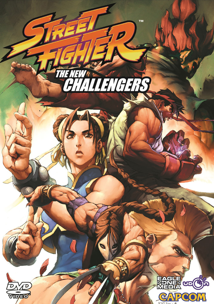 Street Fighter Animated Comic DVD 2 815720010709